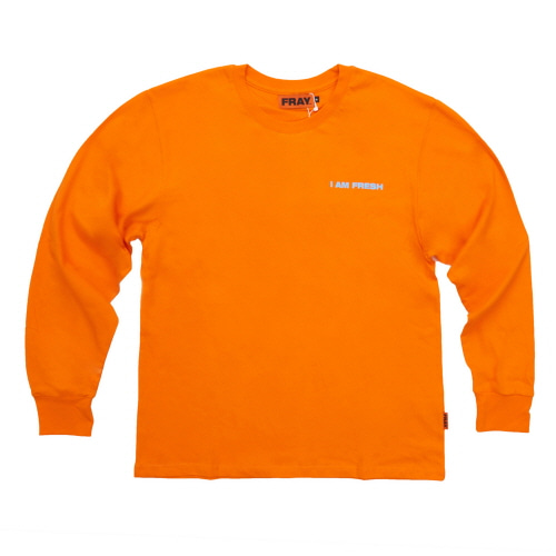 [FRAY] I AM FRESH LONG SLEEVE - ORANGE
