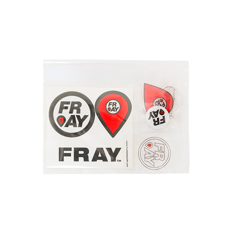 FRAY STICKER PACK