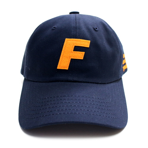 Fray Logo Ball Cap - Navy