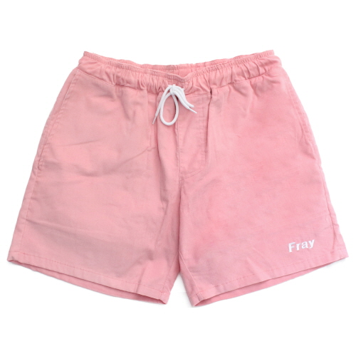 [Fresh anti youth] Corduroy Short Pants - Pink