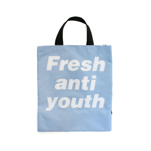 [Fresh anti youth] Logo Tote Bag - Lavender