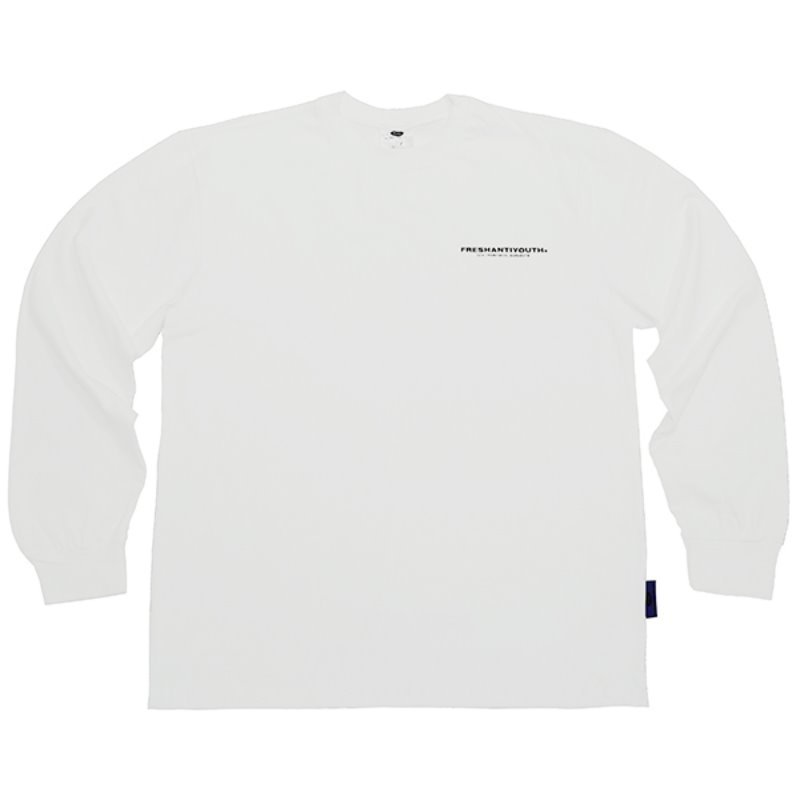 FRESH LONG-SLEEVE T SHIRTS - WHITE