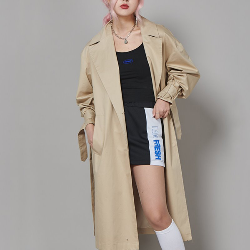 FR TRENCH COAT - BEIGE