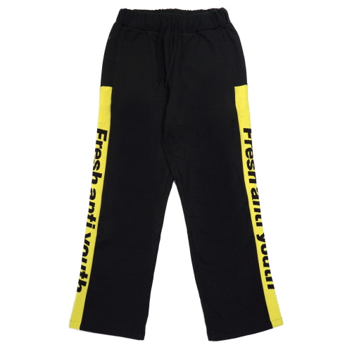 Band-Pants - Black/Yellow