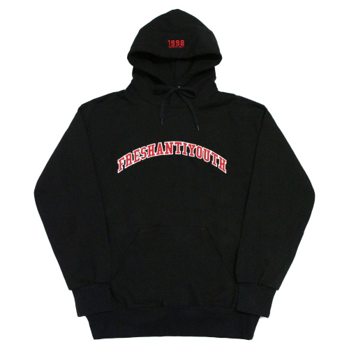 1998 College Hood Sweater - Black