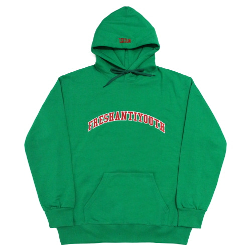 1998 College Hood Sweater - Green
