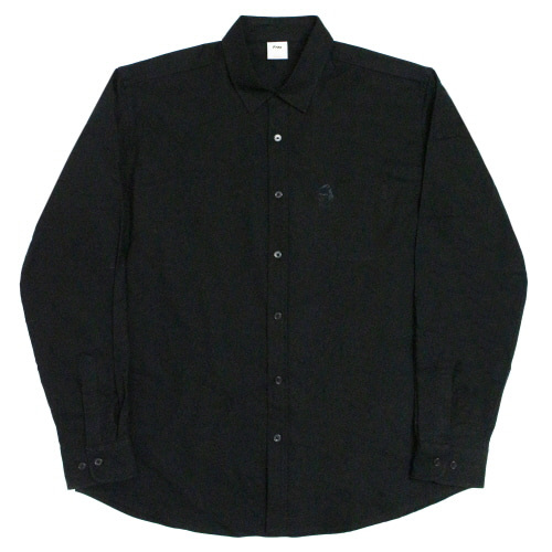 M.O.Y Oxford-Shirts - Black
