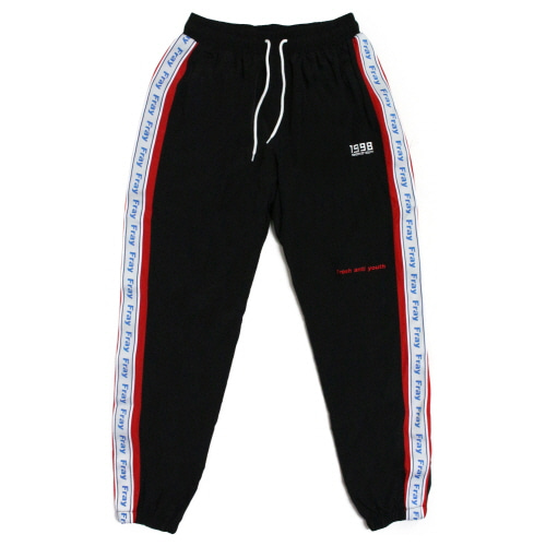 Wave Track-Pants - Black