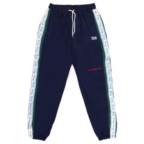 Wave Track-Pants - Navy