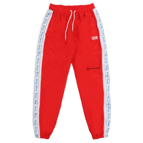 Wave Track-Pants - Red
