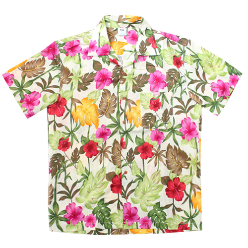 Floral Shirts - White