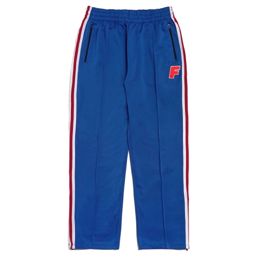 Logo Zip Track Pants - Blue