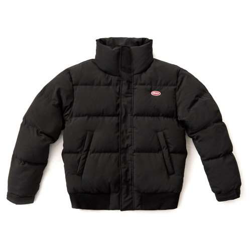 [FRAY] LOGO PADDING JACKET - BLACK