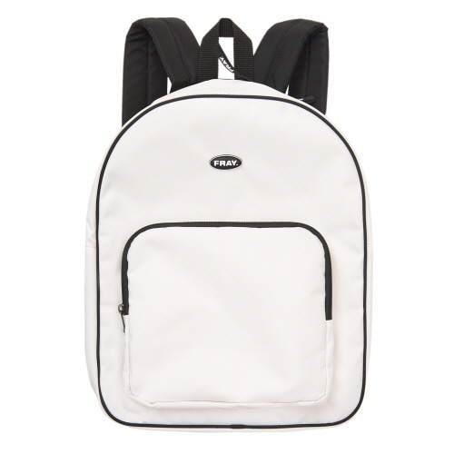 [FRAY] FRAY PIPING BACKPACK - OFF WHITE