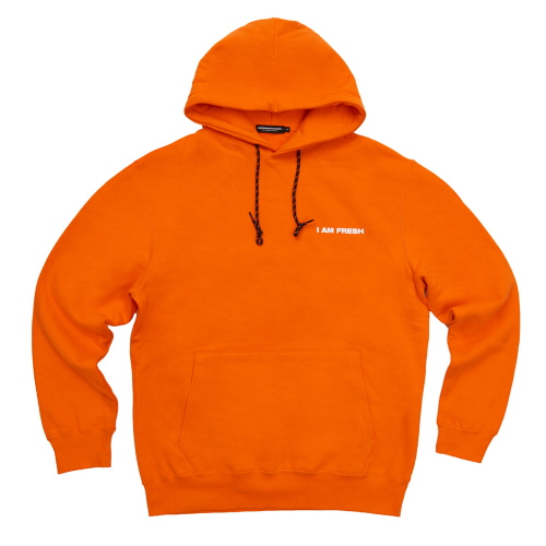 [Fresh anti youth] I AM FRESH FULLOVER HOODIE - ORANGE