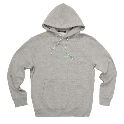 [Fresh anti youth] MINI LOGO FULLOVER HOODIE - GREY