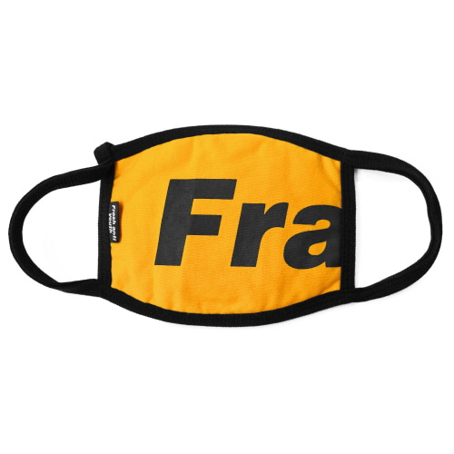 Fray Logo Mask - Yellow