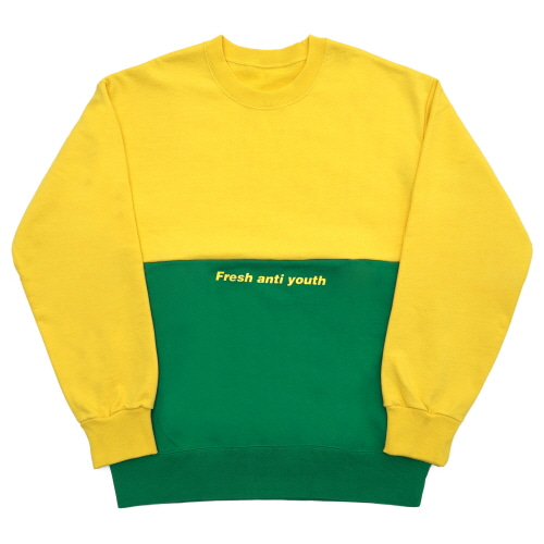 Half Sweatshirt - Yellow