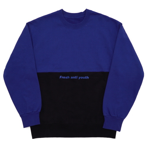 Half Sweatshirt - Blue