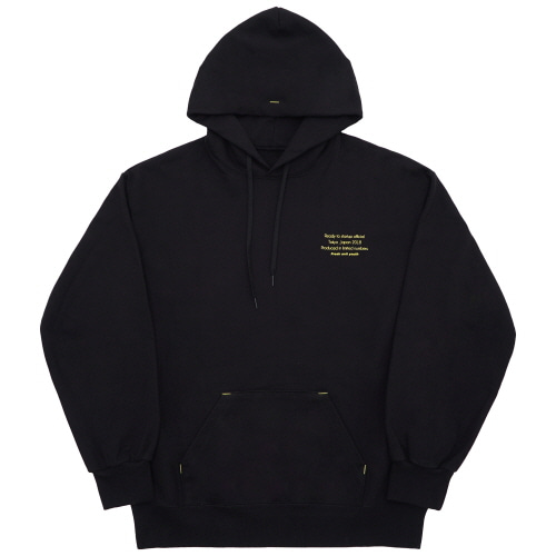 Reception Hoody - Black