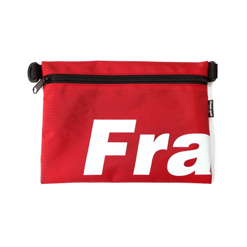 Fray Pocket Side Bag - Red