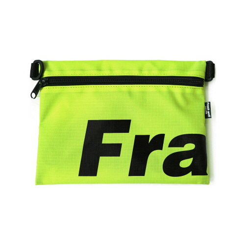 Fray Pocket Side Bag - Neon Green