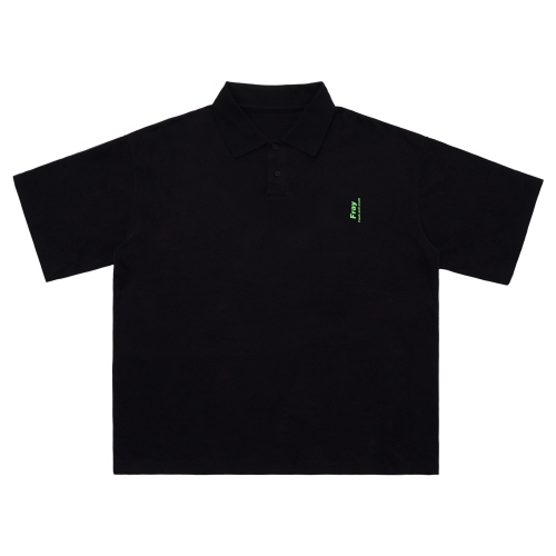 Over Polo Shirts - Black