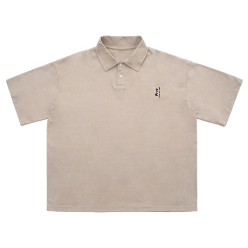Over Polo Shirts - Beige