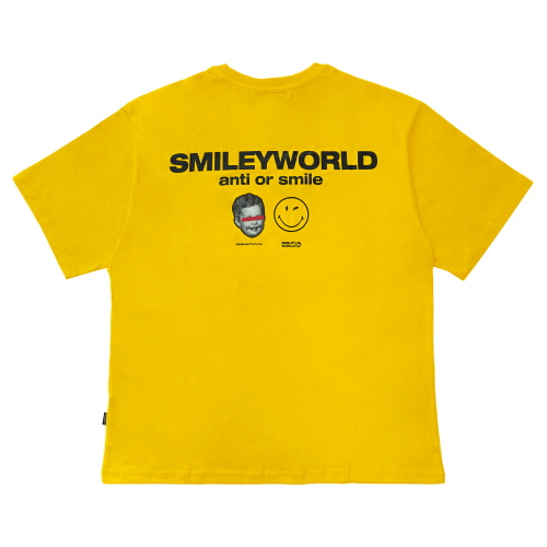 [FRAY x SMILEY] SMILEY WORLD T-SHIRTS - YELLOW
